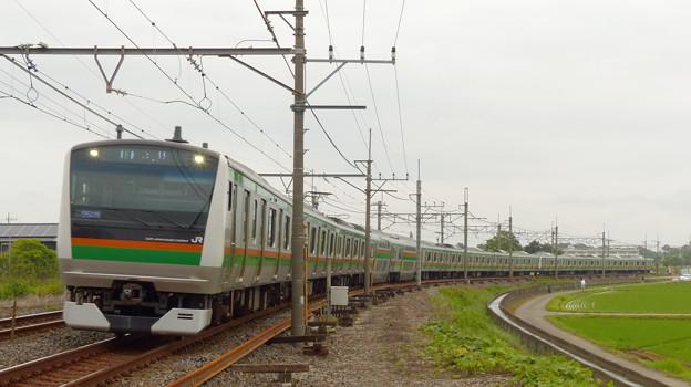 Photos: 宇都宮線 15両編成