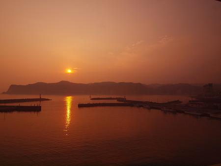 小湊の夕陽