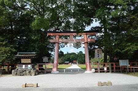 秋の上賀茂神社 1