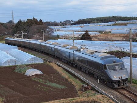 787系リレーつばめ(鹿児島本線植木~田原坂)