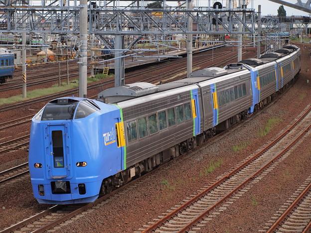 キハ261系スーパー宗谷 (函館本線苗穂駅付近)