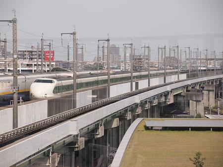 200系上越新幹線 鉄道博物館屋上