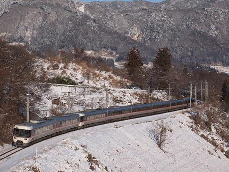 383系ワイドビューしなの(篠ノ井線 姨捨〜稲荷山)