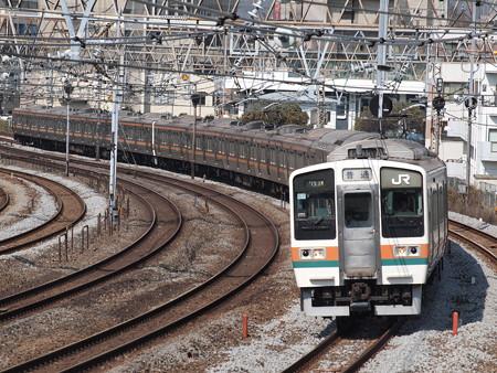 211系(東海道本線 戸塚~大船)