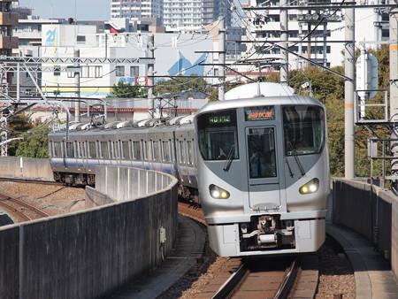 225系関空・紀州路快速(大阪環状線今宮駅)