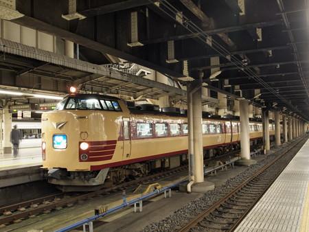 485系 急行能登 上野駅バルブ
