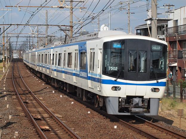 泉北7020系 準急 南海高野線浅香山駅
