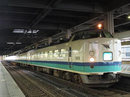 485系特急北越 北陸本線金沢駅
