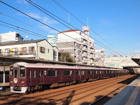 阪急9000系普通 阪急神戸線六甲駅