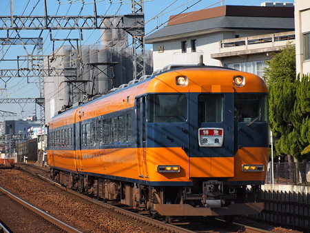 近鉄12200系 京奈特急 近鉄奈良線大和西大寺~新大宮