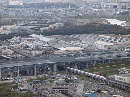 700系ひかり 東海道新幹線京都~新大阪 2