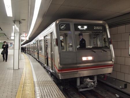 大阪市営地下鉄新20系 御堂筋線梅田駅
