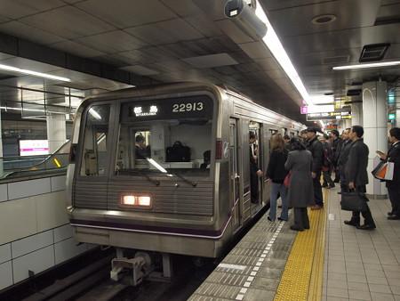 大阪市営地下鉄新20系 谷町線南森町駅