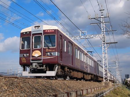 阪急6300系京とれいん 阪急京都線高槻市~富田