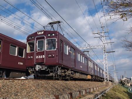 阪急2300系普通 阪急京都線高槻市~富田