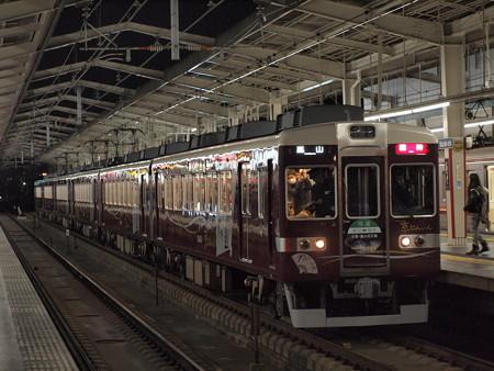 阪急6300系京とれいん 臨時快速 阪急京都線茨木市駅2