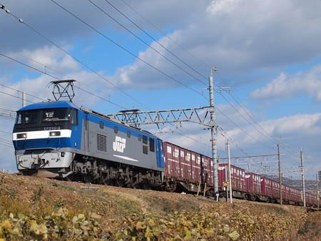 EF210貨物 東海道本線高槻~摂津富田