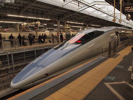 500系こだま 山陽新幹線新大阪駅