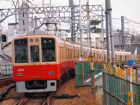 阪神8000系非リニューアル車急行 阪神本線甲子園駅