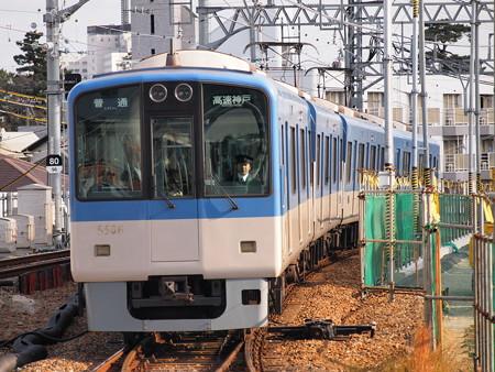 阪神5500系普通 阪神本線甲子園駅