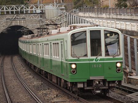 神戸市営地下鉄1000形 伊川谷駅2