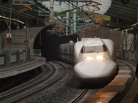 700系ひかり 山陽新幹線新神戸駅