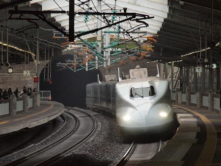 N700系ひかり 山陽新幹線新神戸駅2