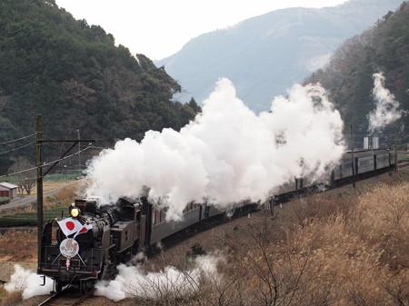 C10 新春SLかわね路 大井川鉄道線福用~大和田お立ち台