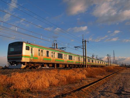 E231系普通 東北本線岡本~宝積寺