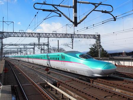 E5系 はやぶさ 東北新幹線那須塩原駅