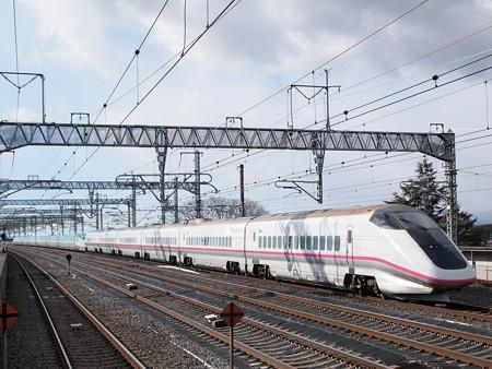 E3系+E5系 なすの 東北新幹線那須塩原駅
