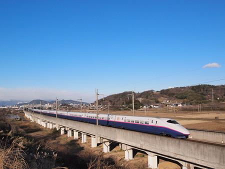E2系+E3系 やまびこ・つばさ 東北新幹線福島~郡山