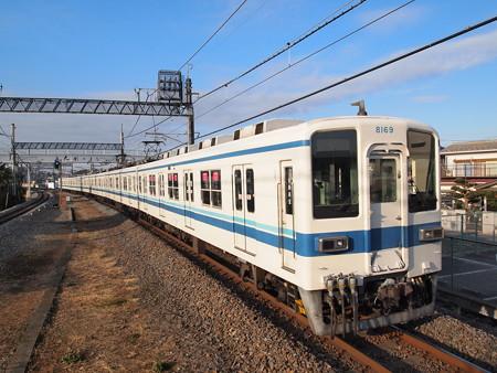 東武8000系 東武野田線東岩槻駅2
