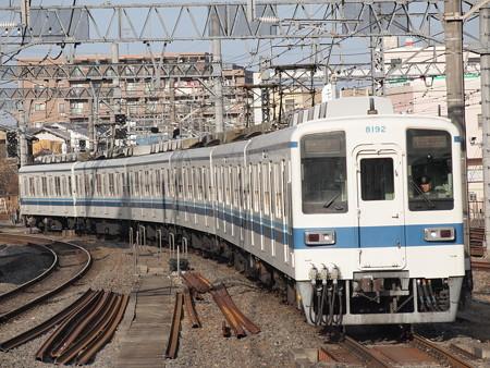 東武8000系 東武野田線春日部駅
