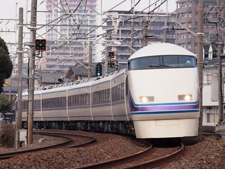 東武100系特急きぬ 東武スカイツリーライン春日部~一ノ割