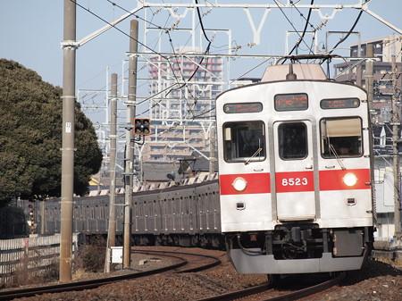 東急8500系急行 東武スカイツリーライン春日部~一ノ割