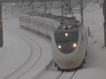 681系特急はくたか 上越線大沢~上越国際スキー場2