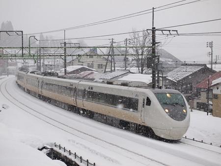 681系特急はくたか 上越線大沢~上越国際スキー場