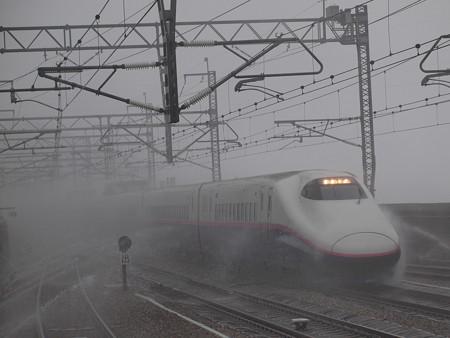 E2系とき 上越新幹線浦佐駅