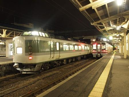 189系妙高 信越本線直江津駅2