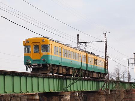富山地鉄10030系普通 富山地方本線西魚津~越中中村