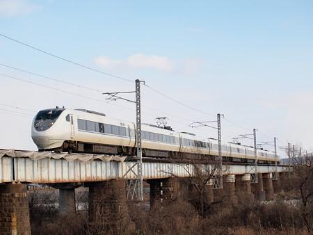 681系特急はくたか 北陸本線魚津~東滑川
