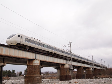 681系 特急はくたか 北陸本線魚津~東滑川
