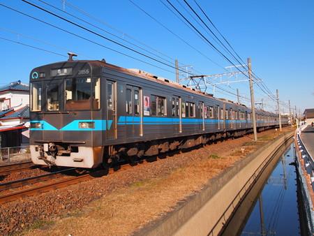 名古屋市営地下鉄N3000形 名鉄犬山線西春~上小田井