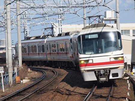 名鉄1800系回送 名鉄名古屋本線東枇杷島駅