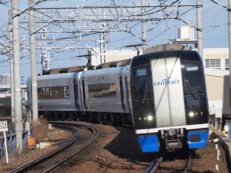名鉄2000系ミュースカイ 名鉄名古屋本線東枇杷島駅