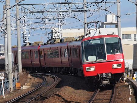 名鉄5300系回送 名鉄名古屋本線東枇杷島駅