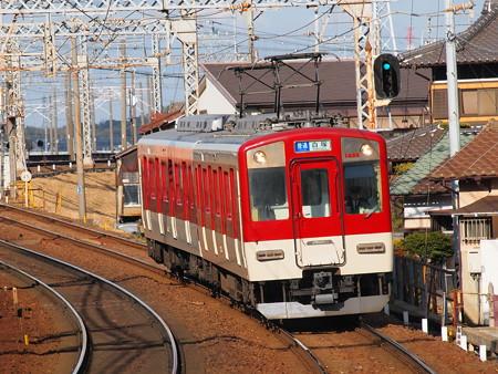 近鉄1400系普通 近鉄名古屋線近鉄富田駅