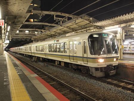 221系快速 大阪環状線天王寺駅