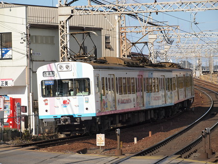 三岐鐵道101系 三岐線近鉄富田駅
